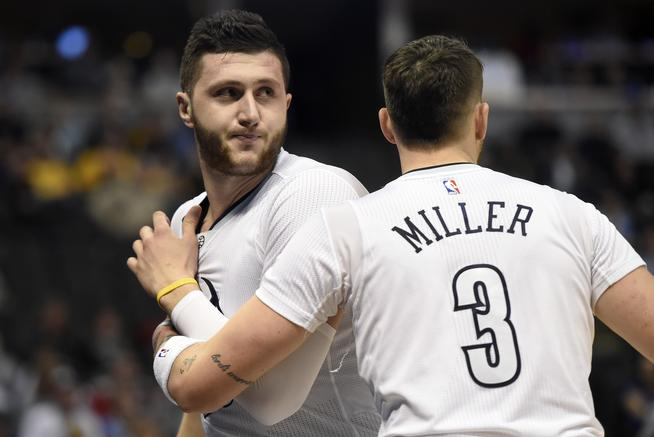 Jusuf Nurkic took his frustrations out on the Detroit Pistons