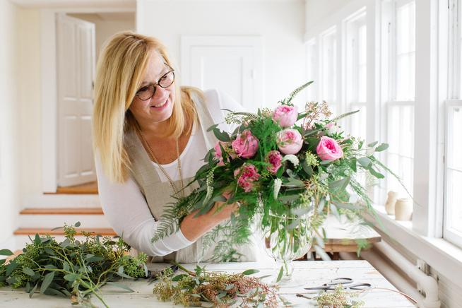 Garden roses a fragrant choice for Valentine's bouquets
