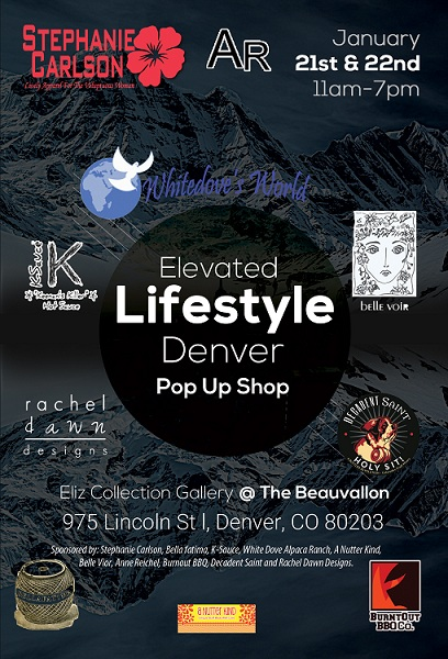 Elevated lifestyle Denver pop up shop