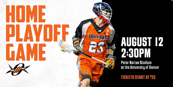 Denver Outlaws Clinch Home Field Advantage For MLL Playoffs